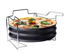 Pizzaplaat Met 3 Bakplaten ø 32 cm