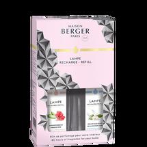 Lampe Berger Huisparfum duoset Black Crystal - 2 Stuks