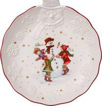 Villeroy & Boch Toy's Fantasy schaal ø 26cm - sneeuwpop