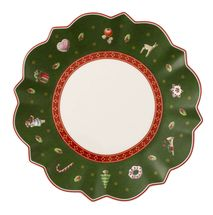 Villeroy & Boch Toy's Delight gebaksbordje  ø 17cm - groen