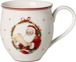 Villeroy & Boch Toy's Delight beker Mr & Mrs Santa