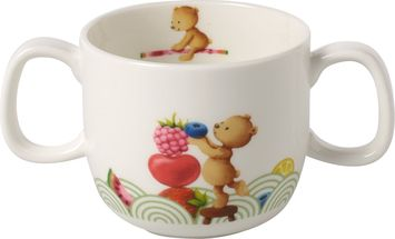 Villeroy & Boch Hungry as a Bear beker met 2 oren