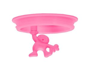 Alessi Reserve Deksel Voorraadpot Gianni A Little Man Holding A Tight - Roze