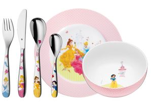 WMF Kinderbestek Kids Disney Princess 6-Delig