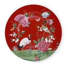 Pip Studio Blushing Birds onderbord ø 32cm - rood
