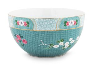 Pip Studio Blushing Birds bowl ø 18cm - blauw