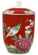 Pip Studio Blushing Birds voorraadpot - rood