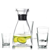 Eva Solo Karaf Drupvrij 1 Liter + 4 Glazen 25 cl