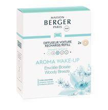 Maison Berger Autoparfum Navulling Woody Breeze- 2 Stuks