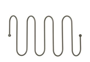 Blomus Curl wandkapstok 46cm - steel grey