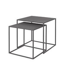 Blomus Fera bijzettafel - steel grey - 2 stuks