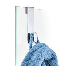 Blomus Areo handdoekhaak voor douchewand - gepolijst rvs
