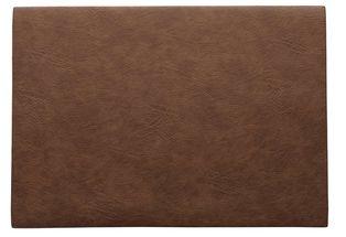 ASA Selection Placemat Leer Caramel 33 x 46 cm