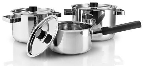 Eva Solo Nordic Kitchen pannenset - zwart