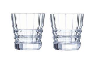 Cristal d'Arques whiskyglazen Architecte 32 cl - 2 stuks