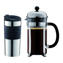 Bodum Cafetière Chambord Set Travel Mug