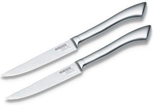 Carl Mertens Taglio steakmes - 2 stuks - mat rvs