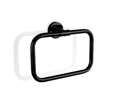 Decor Walther Basic handdoekring - zwart