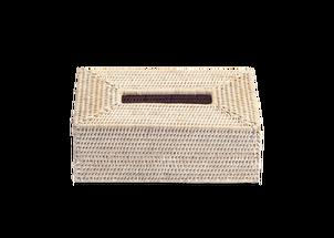 Decor Walther Basker tissue box - licht rattan