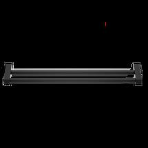 Decor Walther Corner handdoekenrek 60cm - dubbel - mat zwart