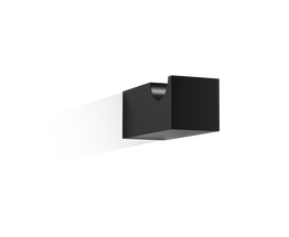 Decor Walther Corner handdoekhaakje - mat zwart