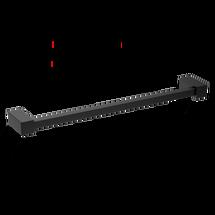 Decor Walther Corner handdoekstang 40cm - mat zwart