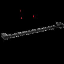 Decor Walther Corner handdoekstang 60cm - mat zwart