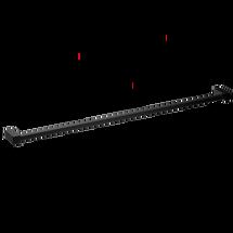 Decor Walther Corner handdoekstang 80cm - mat zwart