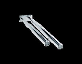 Decor Walther DW 735 handdoekrek - uittrekbaar - chroom