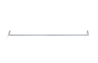 Decor Walther Mikado handdoekstang 80cm - chroom