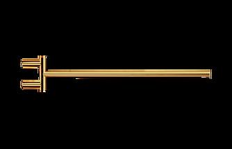 Decor Walther Mikado handdoekstang zwenkbaar - goud