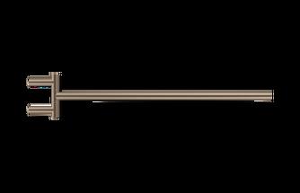 Decor Walther Mikado handdoekstang zwenkbaar - mat roestvrijsaal