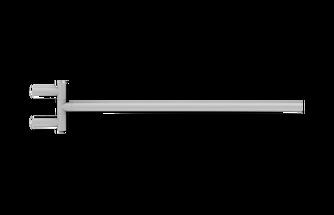 Decor Walther Mikado handdoekstang zwenkbaar - mat wit