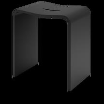 Decor Walther Stone badkamer hocker - zwart