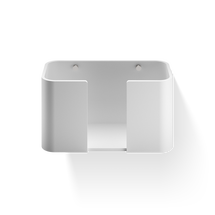 Decor Walther Stonoe handdoekmandje 27cm - wandmodel - wit