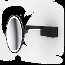 Decor Walther Vision R make-up spiegel - mat zwart