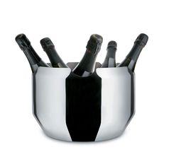 Alessi Noe champagnekoeler GIA12 door Giulio Lacchetti