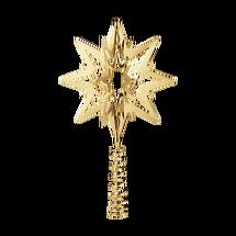 Georg Jensen Top Star kerstboompiek 14cm - verguld