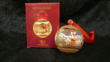Hutschenreuther kerstbal 2007 - schotland