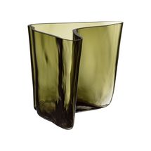 Iittala Aalto vaas 175x140mm - mosgroen - limited edition