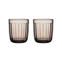 Iittala Raami glas 26cl - linen - 2 stuks