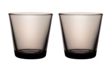 Iittala Kartio glas 21cl zand - 2 stuks