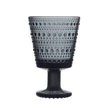 Iittala Kastehelmi glas 26cl - donkergrijs - 2 stuks