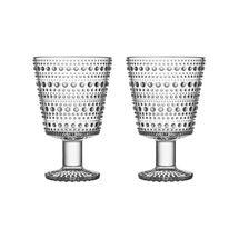 Iittala Kastehelmi glas 26cl - helder - 2 stuks