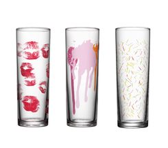 Kosta Boda Make Up Your Kitchen longdrinkglas - 3 stuks