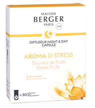 Maison Berger Night & Day Diffuser Capsule Aroma D-Stress