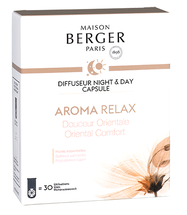 Maison Berger Night & Day Diffuser Capsule Aroma Relax