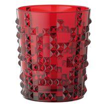 Nachtmann Punk whiskeyglas 34cl - ruby