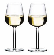 Iittala Senta witte wijnglas 29cl - 2 stuks