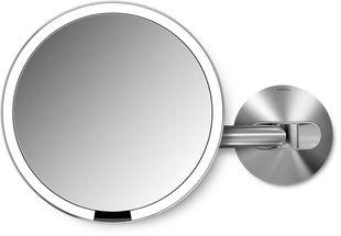 Simplehuman Sensor make up spiegel - mat rvs - netstroom
